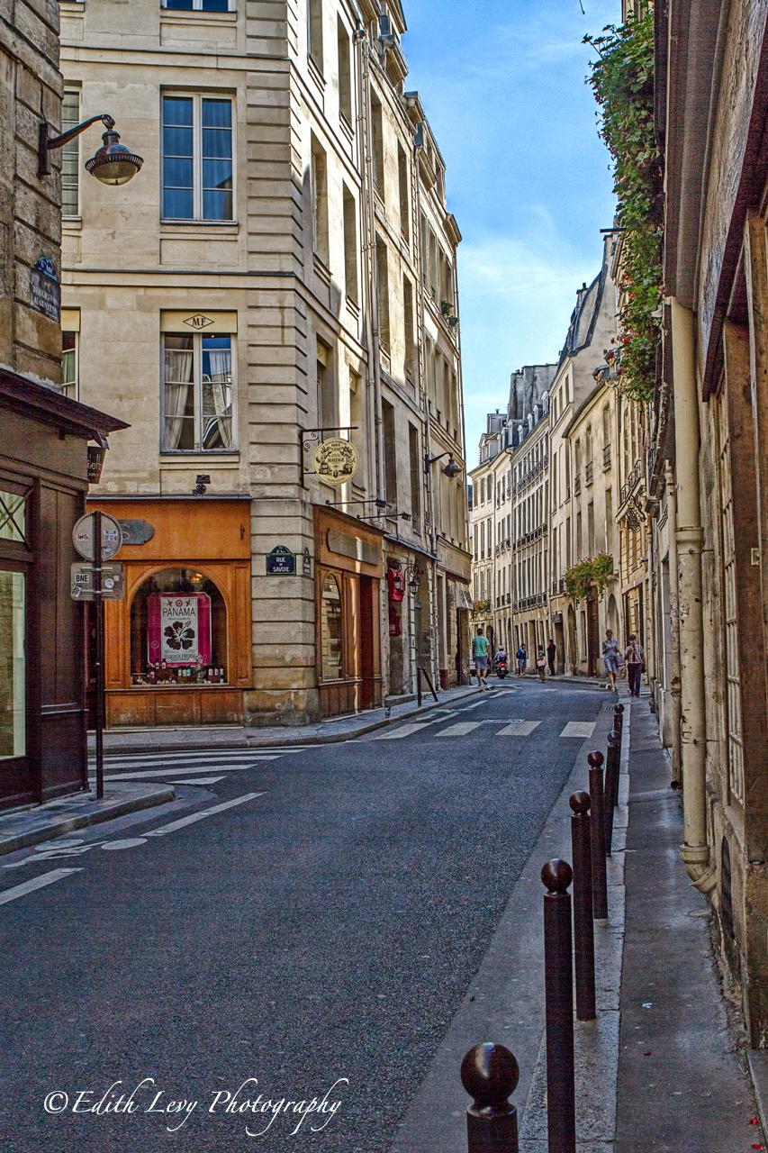 Paris, France, street, Rue de Savoie, 6th arrondissement , photo
