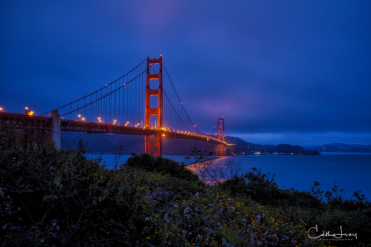 Golden Gate, bridge, San Francisco, Marin County, California, suspension bridge,, photo