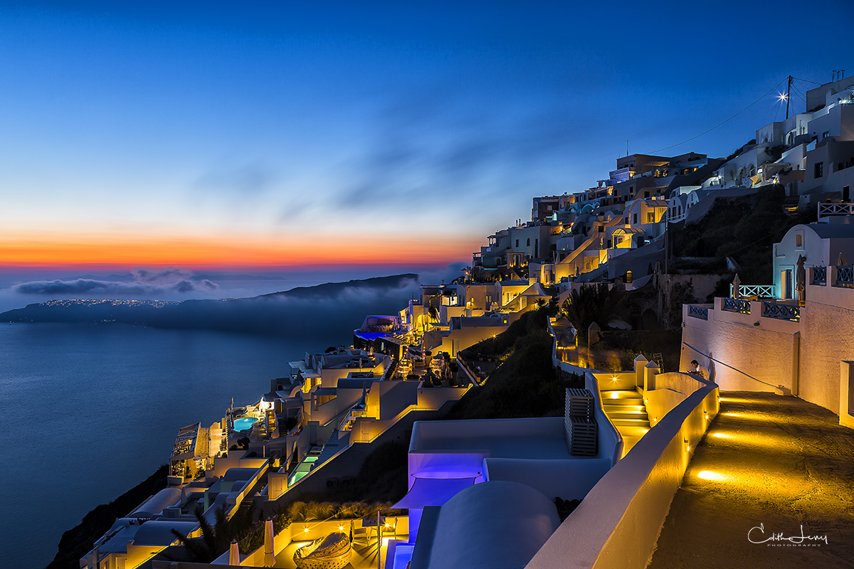 Limited Edition of 50 As far as epic sunsets go, Santorini lives up to the hype.