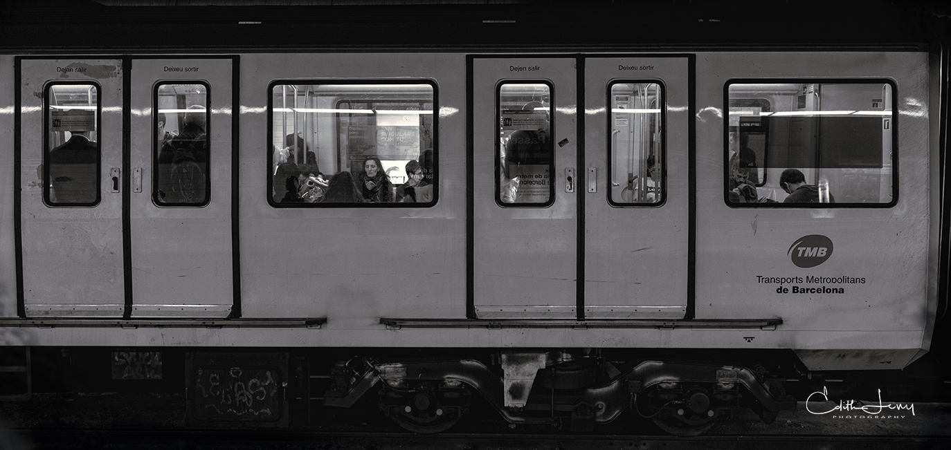 Barcelona, Spain, Subway, tableau, story, , photo
