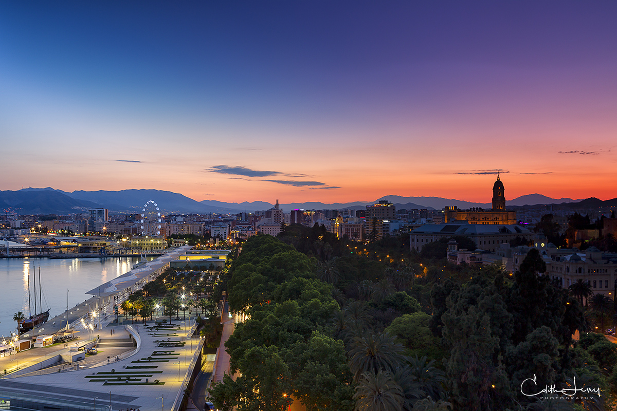Limited Edition of 50 Malaga is a port city in Spain's Costa Del Sol, know for its beautiful beaches and rich history and cultural...
