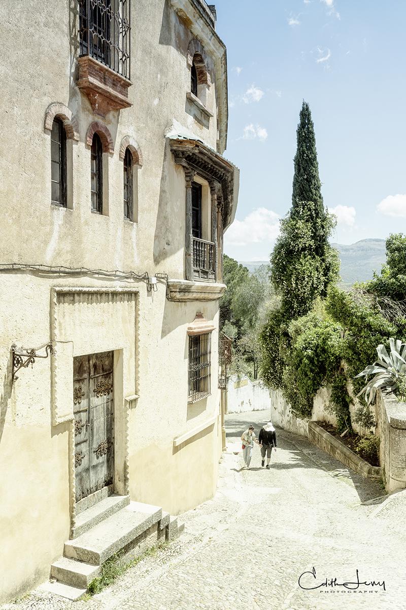 Ronda, Spain, gorge, El Tajo, old town, hill, photo