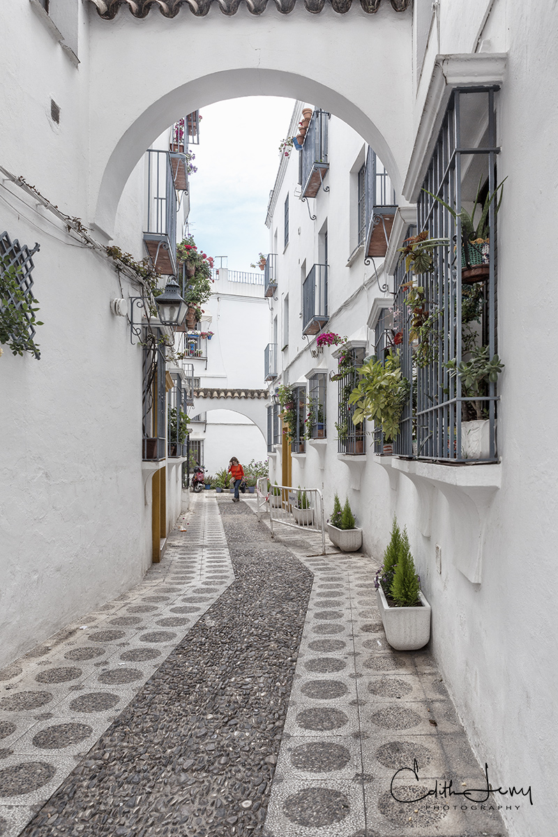 Cordoba, Spain, old town, laneway, photo