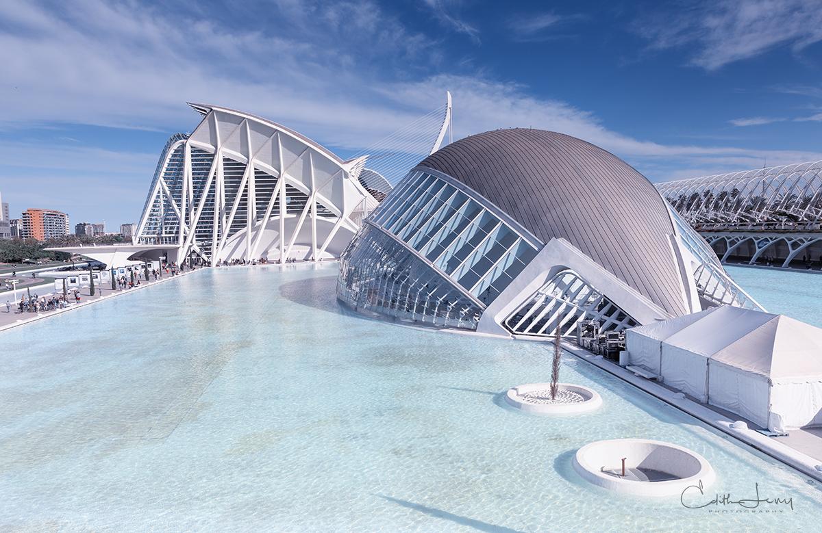 Valencia, Spain, City of Arts and Science, planetarium, oceanarium, , photo