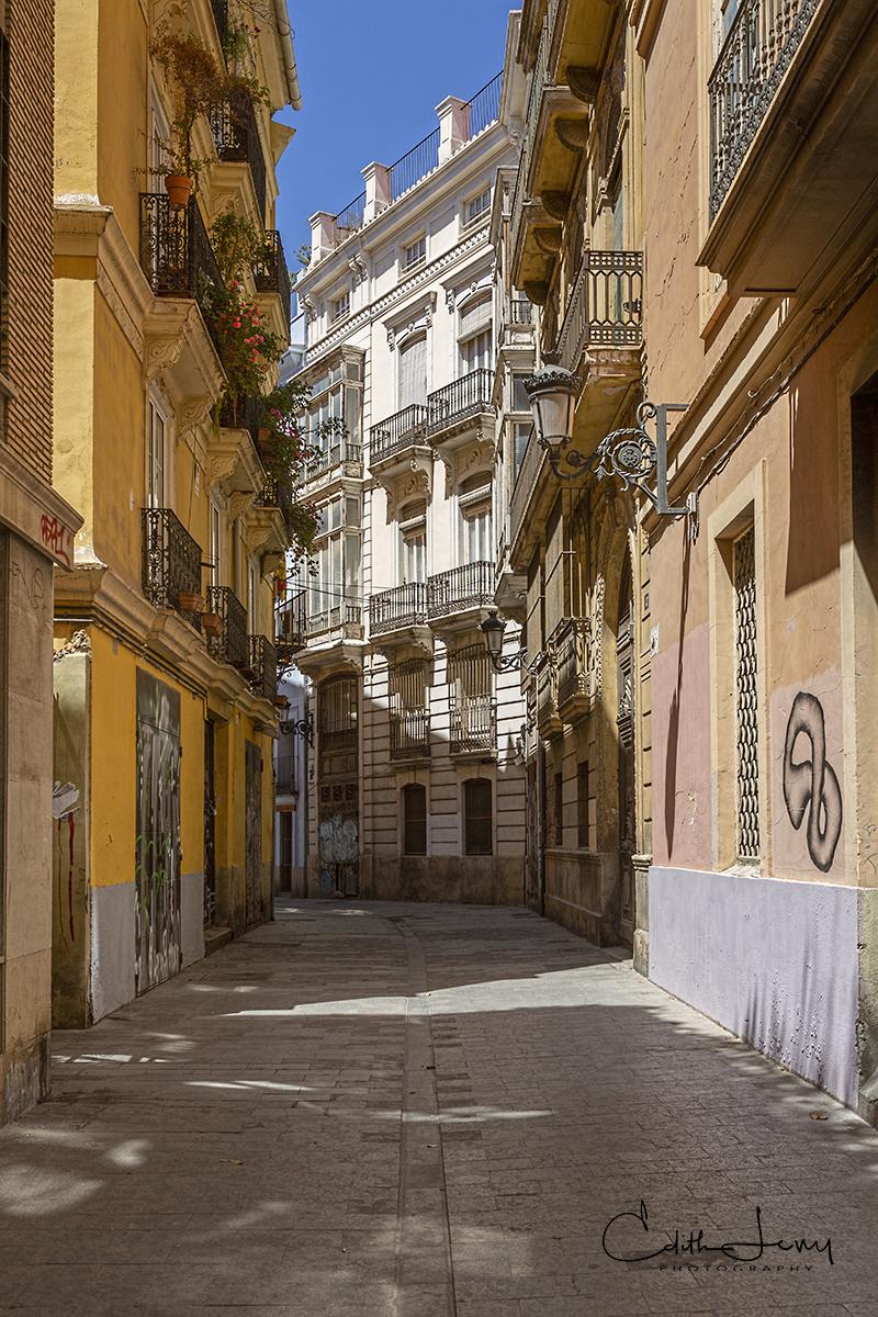 Valencia, Spain, City of Arts and Science, planetarium, oceanarium, old town, square, photo