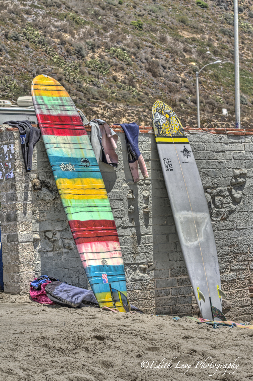 Malibu, california, surfboards, photo