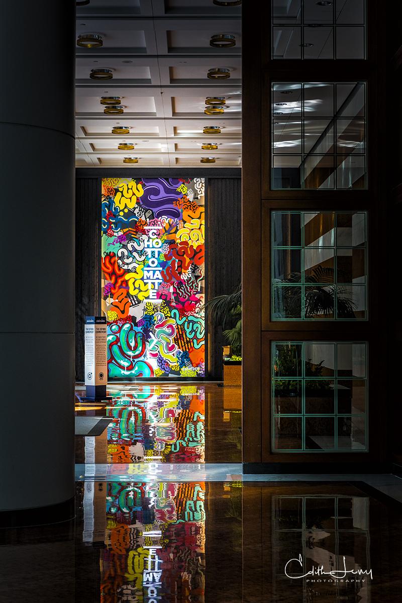 Toronto, Ontario, Brookfield Place, art, installation, photo