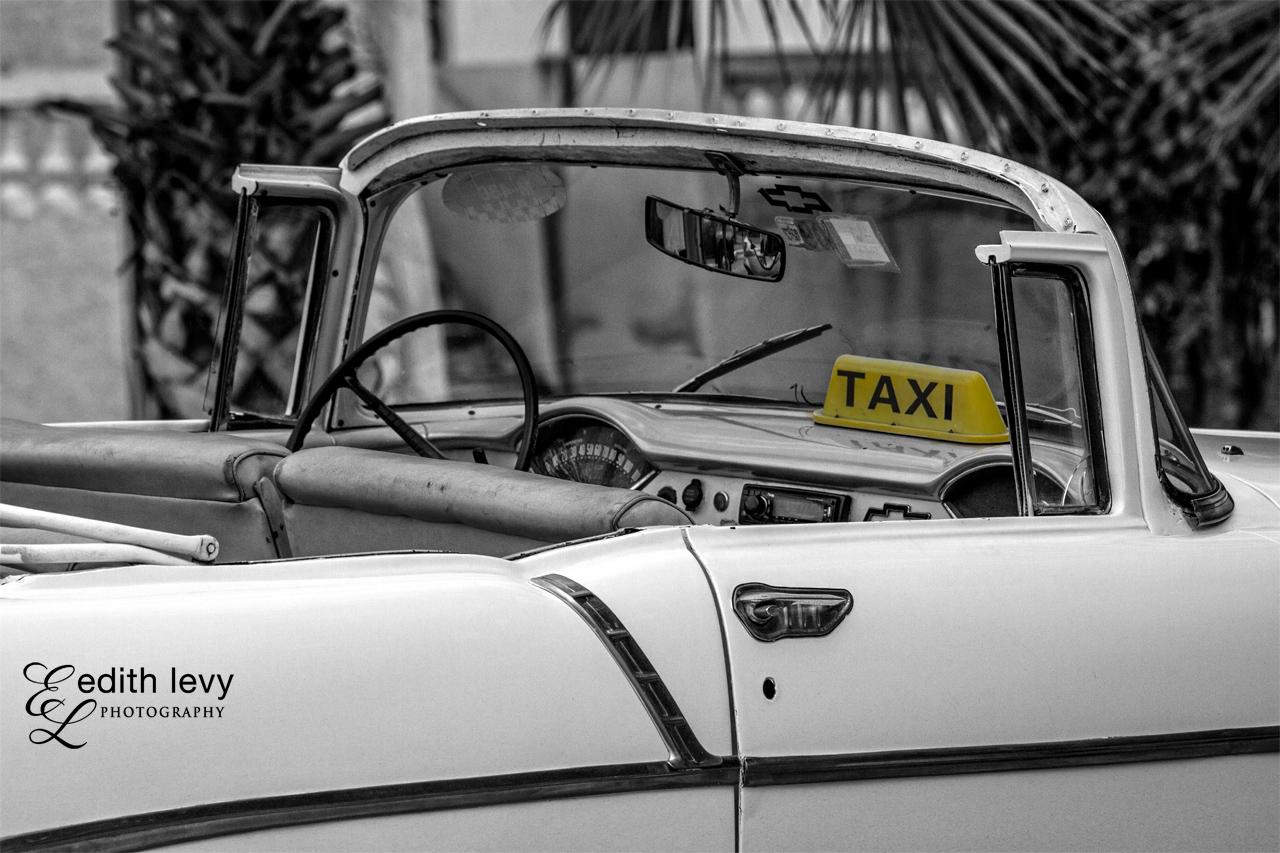 Vintage Havana Taxi