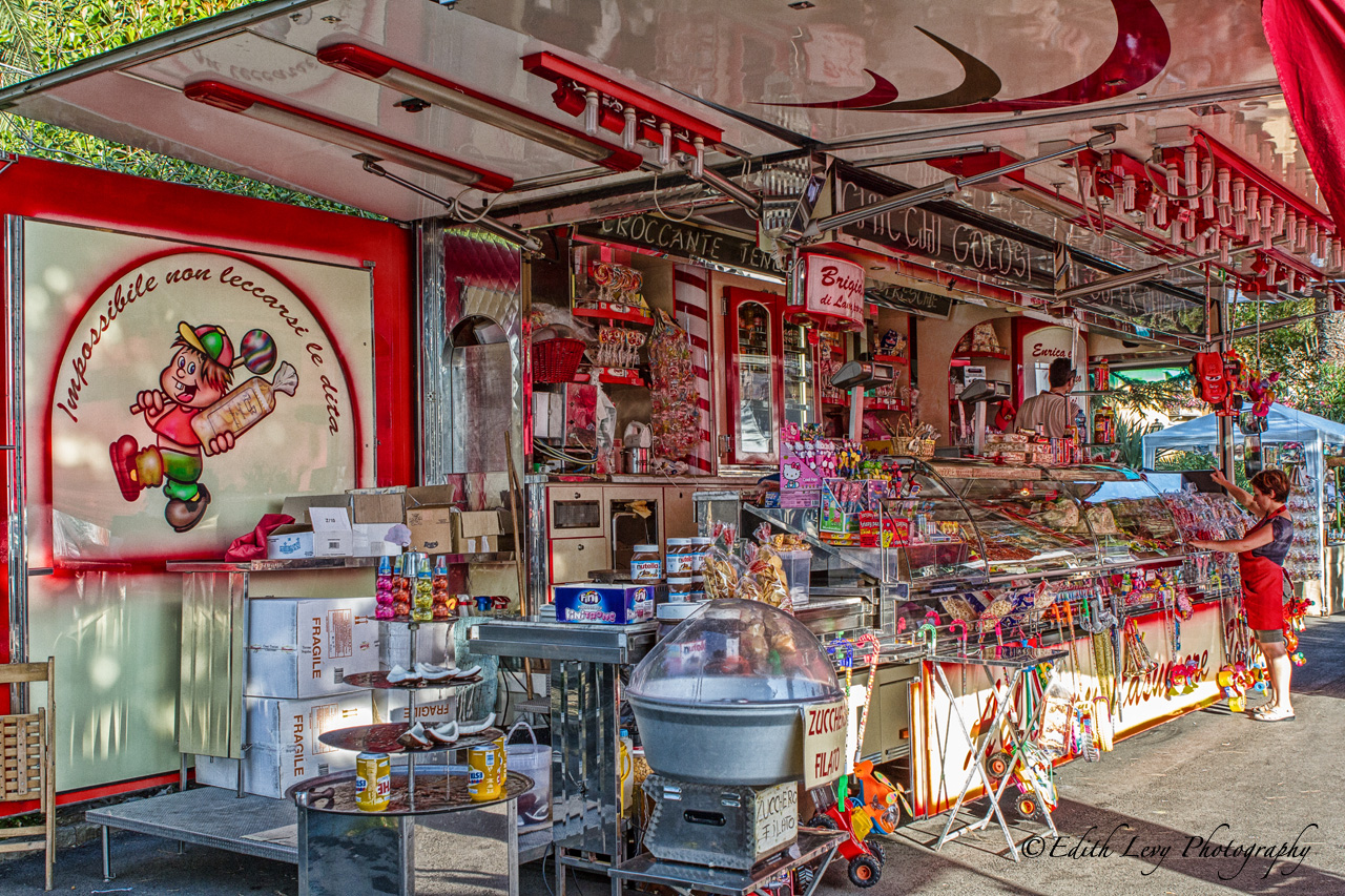Lerici, Italy, candy, store,, photo