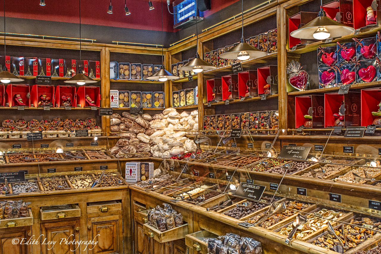 Talk about being a kid in a candy shop. This chocolate shop found on the left bank in Paris was pretty incredible.