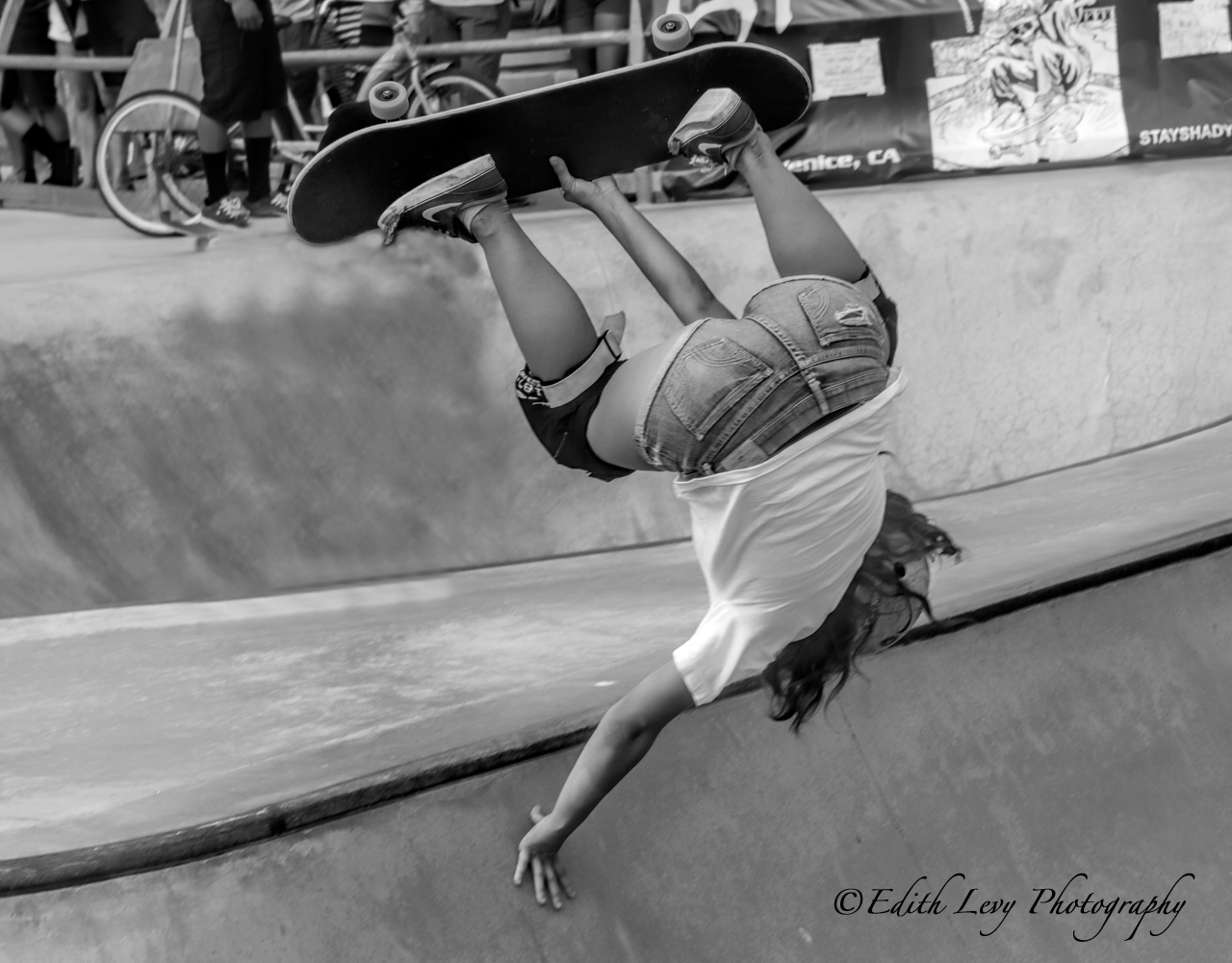 Venice Beach, California, skateboard, photo