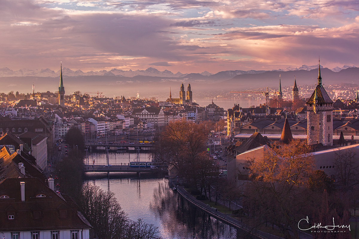 Zurich, Switzerland, city, view, photo