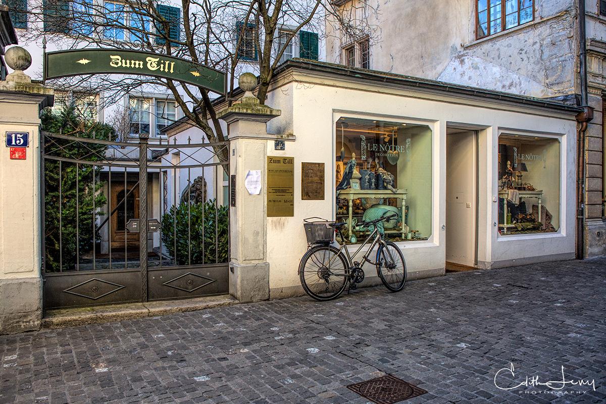 Zurich, Switzerland, city, bicycle, photo