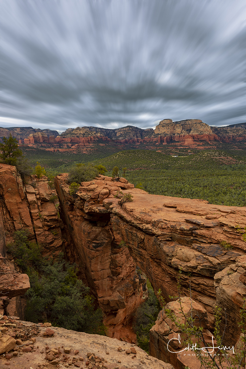 Limited Edition of 50 Devil's Bridge is the largest natural sandstone arch located in the Coconino National Forest in Sedona....