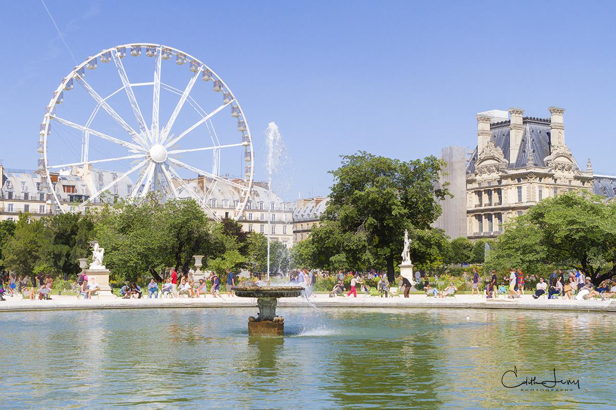 France, Louvre, Paris, Place de la Concorde, Jardin des Tuileries, gardens, Catherine De Medici, French Revolution , photo