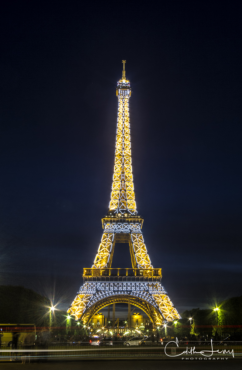 Limited Edition of 50 The Eiffel Tower or La Tour Eiffel was erected in 1889 and is a most impressive structure any time you...