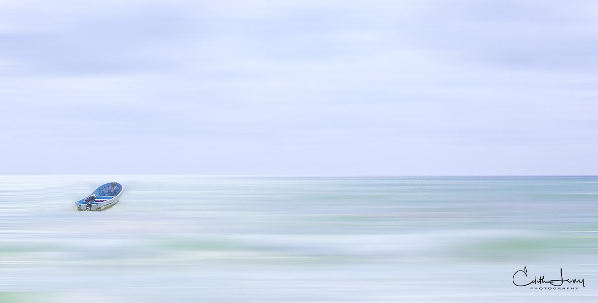 Mexico, Playa Del Carmen, beach,  boat, sky, sea, photo